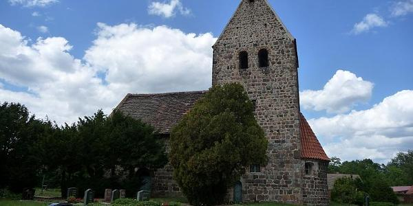 Staffelde, verkehrte Kirche