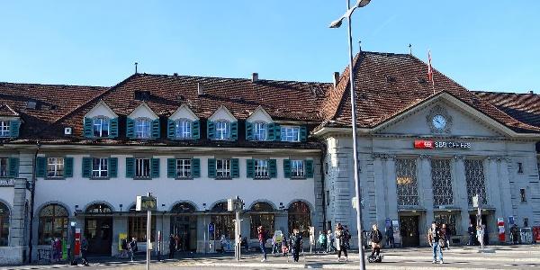 Bahnhof Thun.