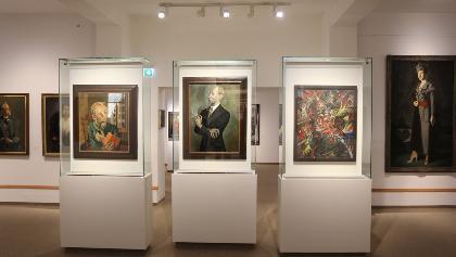 Blick in die Kunstsammlungen