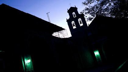 San Juan de Ortega bei Nacht