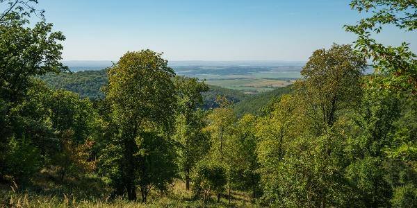 Kilátás az Ipoly felé Szlovákiára