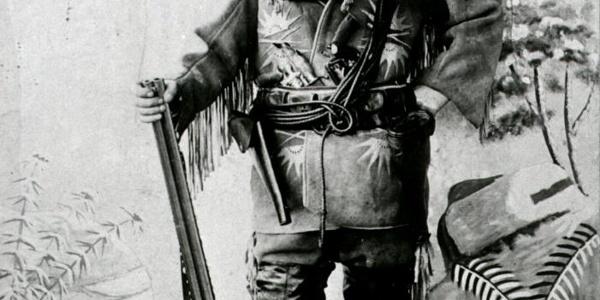 Karl May als Old Shatterhand