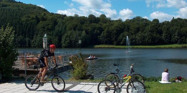 Stausee Bitburg in Biersdorf am See
