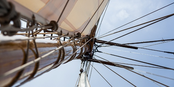 Relax as the wind fills your sails