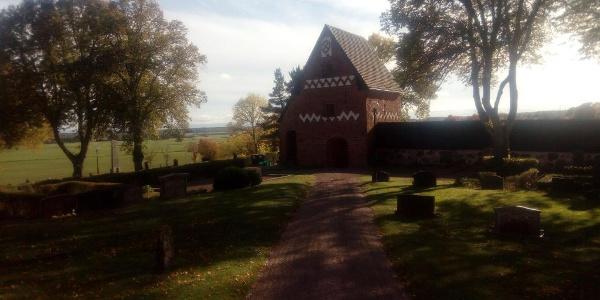 Stiglucka vid Vendels kyrka