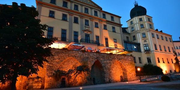 Abendstimmung am Unteren Schloss in Greiz