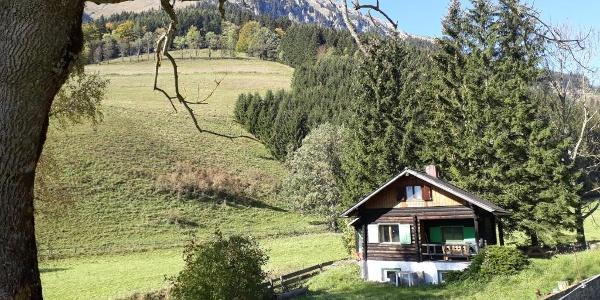 Nassbauer-Hütte am Fuße der Rax
