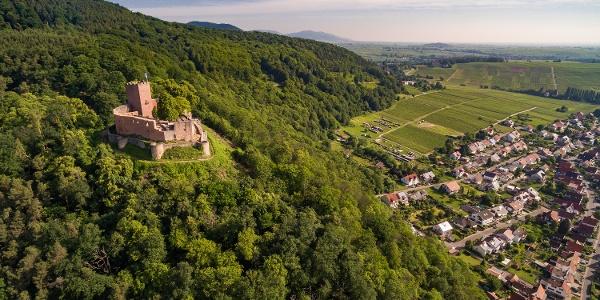 Ausblick Burg Landeck