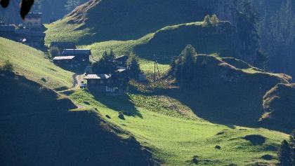 Landschaft bei Innerferrera.