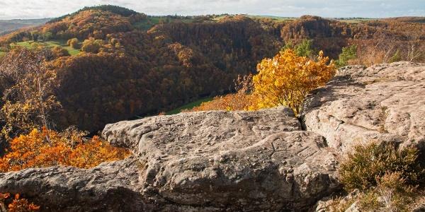 Diese Streckenwanderung (14 km, 470 hm) von Zerkall nach Abenden gehört zu den Top 10 unserer schönsten Wanderungen in der Eifel.