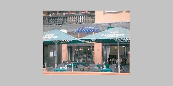 Reastaurant-Café Mayer´s außen