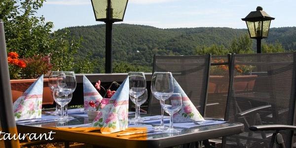 Terrasse Hotel-Restaurant Haus Salzberg
