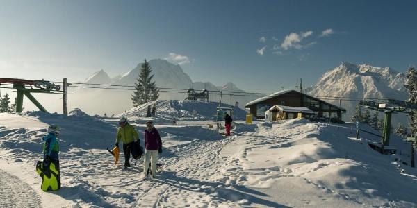 Bergstation der Hirscheck Sesselbahn