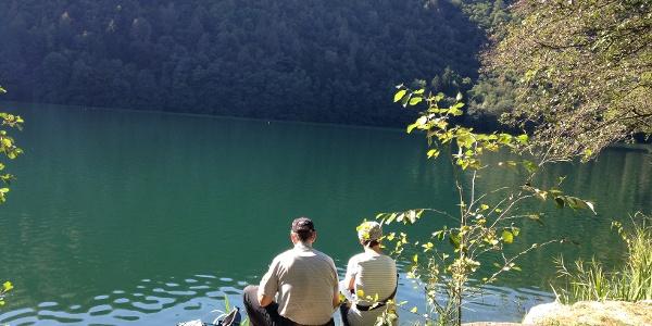 Pausa al lago
