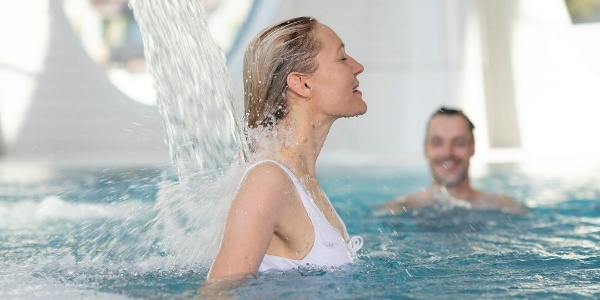 Entspannen in der Tamina Therme in Bad Ragaz.