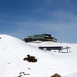 Bergstation Rinderhütte.