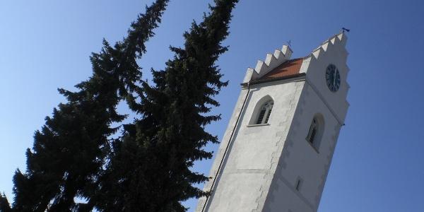 Kirchturm Großschönach
