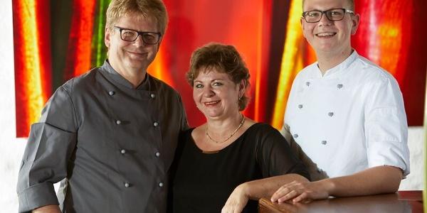 Roland Hügle, Claudia Hügle und Sohn Manuel Hügle