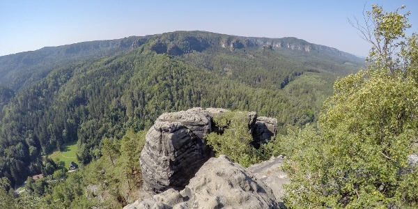 Aussicht vom Großen Teichstein