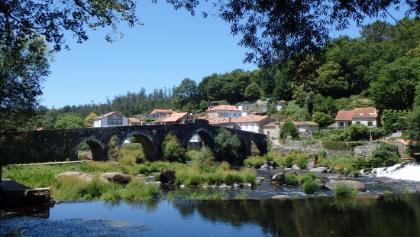 Galicia: Ames: Lugar Pontemaceira: Rio Tambre