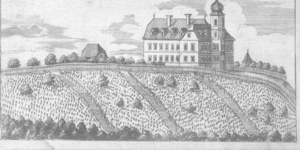 Kupferstich von Schloss Reiteregg