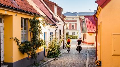 Radfahren in Ystad