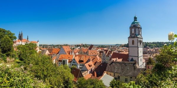 Panorama mit Blick auf die Frauenkirchturm