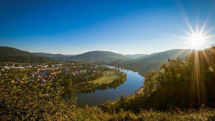 Mainschleife bei Miltenberg in Churfranken