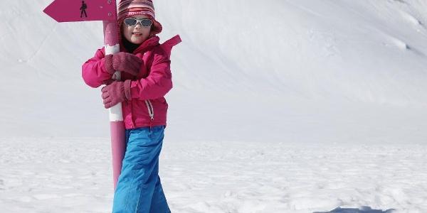 Winterwandern Wegweiser
