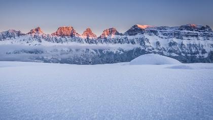 Winterwandern am Flumserberg