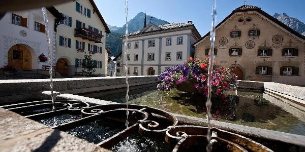Dorfbrunnen Bügl Grond