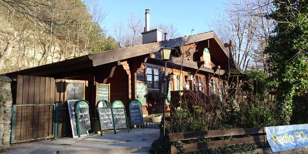 Start beim Waldgasthof Bockerl