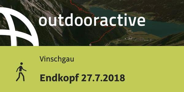 Wanderung im Vinschgau: Endkopf 27.7.2018