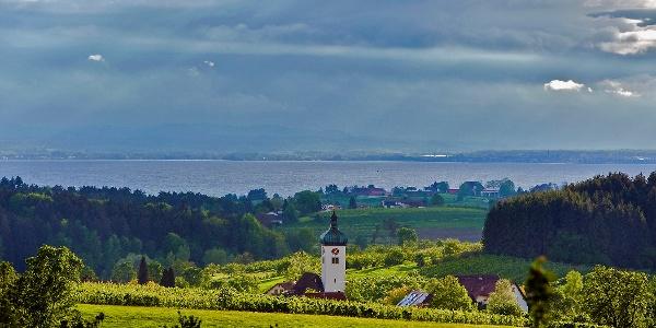 Das Hinterland des Bodensees