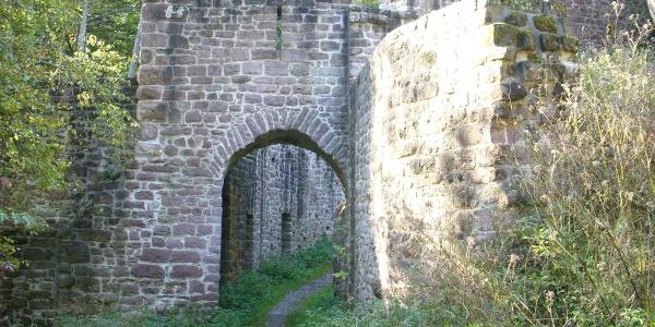 Burgruine Waldeck - Calw-Stammheim
