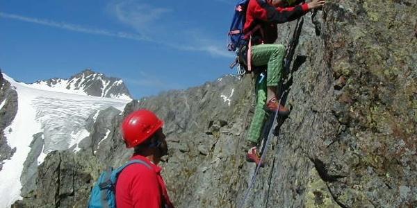 Klettern Franz Senn Hütte