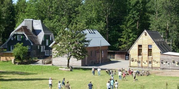 Forsthaus Hohenroth mit Waldinformationszentrum