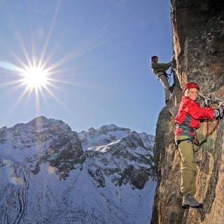 Klettersteig Fernau