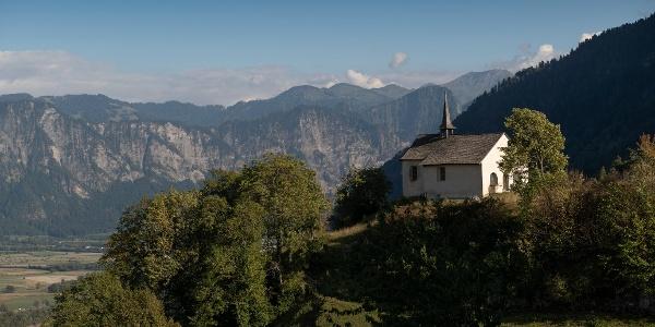Die Kapelle St. Georg an idyllischer Lage