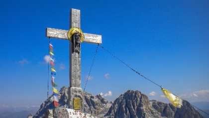 Gipfel des Monte Paterno