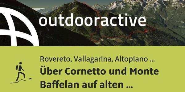 Bergtour in Rovereto, Vallagarina, Altopiano di Brentonico: Über Cornetto ...