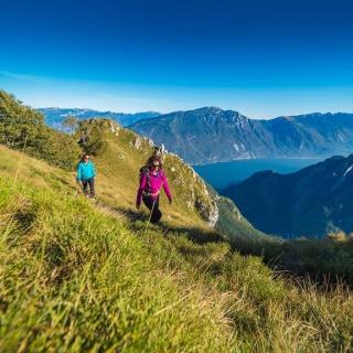 On the trail in direction Rifugio (hut) Nino Pernici
