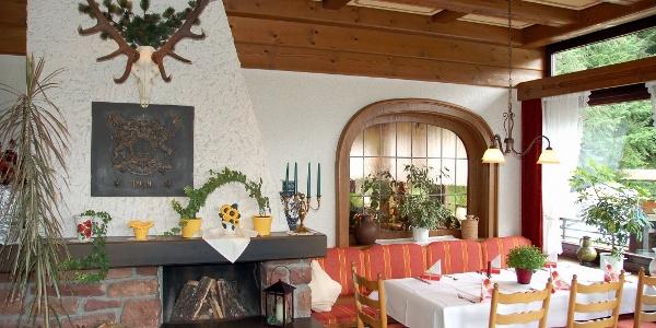 Gastraum Hotel Jägerhof