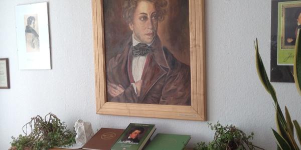Ausstellung zu Julius Mosen in Marieney