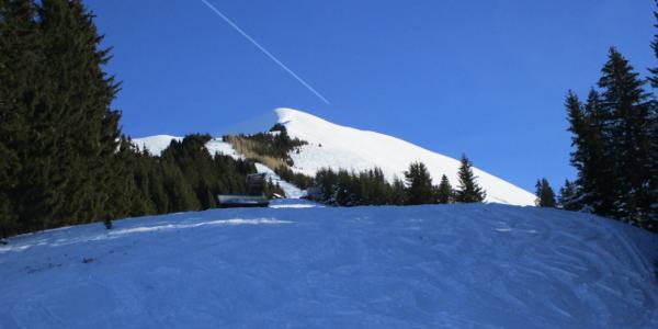 Über den Rücken zum Gipfel