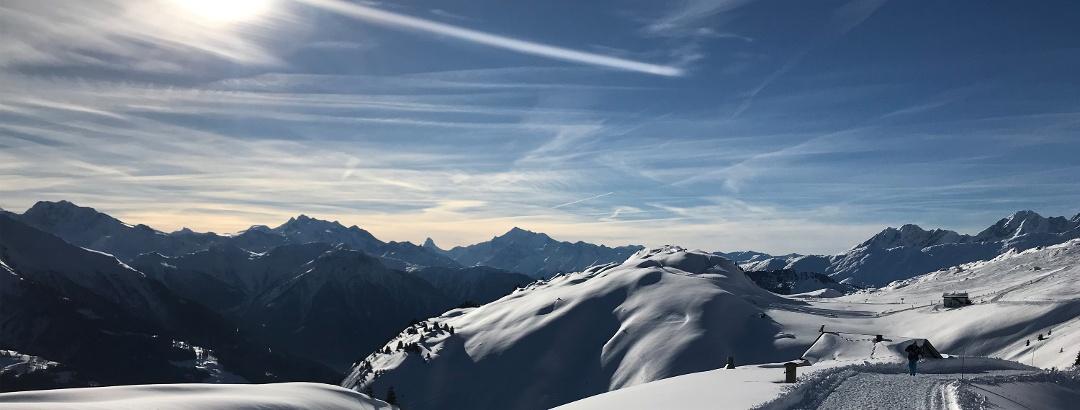 Winterwanderung von der Fiescheralp zur Riederalp
