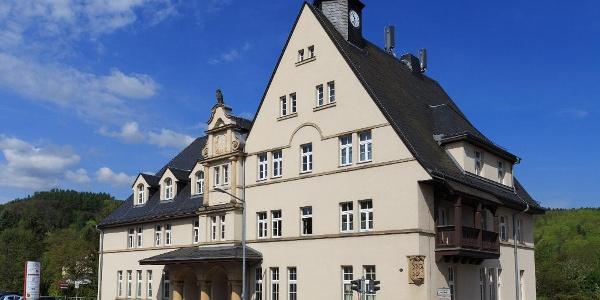 ehem. Rathaus Coßmannsdorf, heute Haus der Stadtbetriebe Freital
