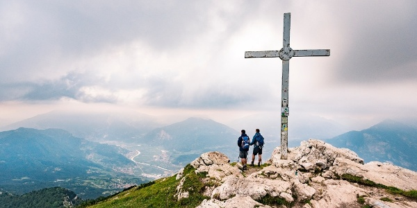 On the top of Monte Stivo
