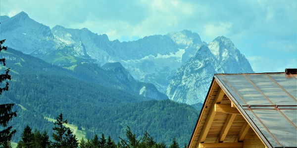Blick von der Tannenhütte