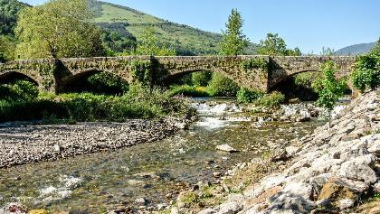 The Oja River near Ezcaray